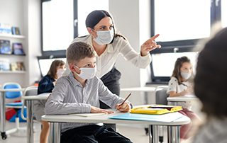 Wireless sensors can help schools protect staff and student health